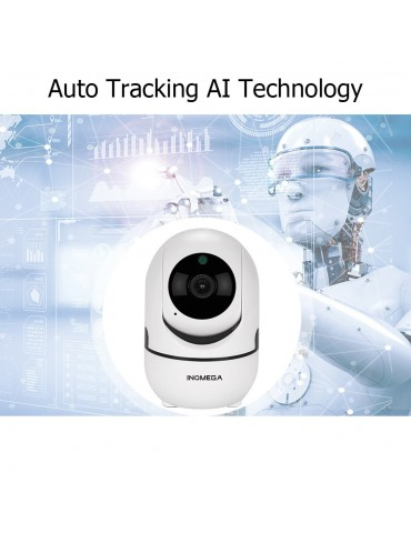 INQMEGA HD 1080P Cloud Wireless IP Camera Intelligent Auto Tracking Of Home Security  Wifi Camera
